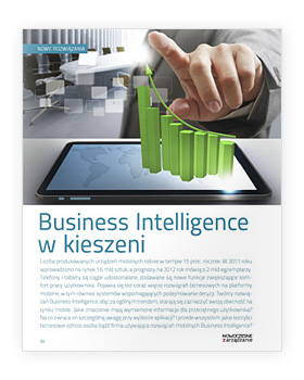 Business Intelligence w kieszeni