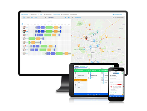 Field Service Management Software and mobile app