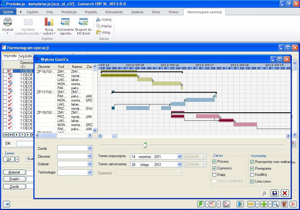 Fakturowanie wykres gantta zobrazowanie postpu prowadzonych prac oraz moliwo zmian terminw czynnoci ccuart Choice Image